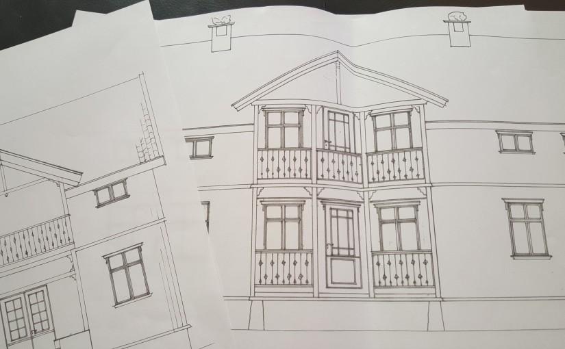 Arkitekttegninger